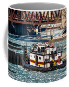 The Tanner On The Icy River Coffee Mug