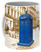 Blue Box  Coffee Mug