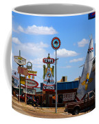 The Tee-pee Curios On Route 66 Nm Coffee Mug