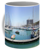 The Tel Aviv Marina  Coffee Mug