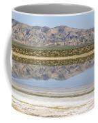The Temblor Range Is Reflected In Soda Coffee Mug