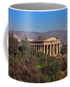 The Temple Of Hephaestus In The Morning, Athens, Greece Coffee Mug