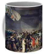 The Tennis Court Oath Coffee Mug by Jacques Louis David