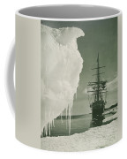 The Terra Nova At The Ice Foot Cape Evans Coffee Mug