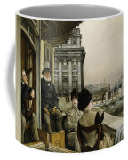 The Terrace Of The Trafalgar Tavern Greenwich Coffee Mug