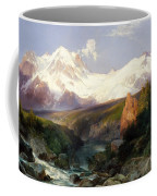 The Teton Range, 1897 Coffee Mug