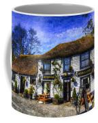 The Theydon Oak Pub Art Coffee Mug