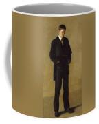 The Thinker, Portrait Of Louis Kenton Coffee Mug