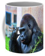 The Thinking Gorilla Coffee Mug