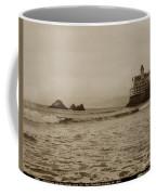 The  Third Cliff House And Seal Rocks From Pier, San Francisco,  Circa 1895 Coffee Mug