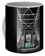 The Three Blue Doors Coffee Mug
