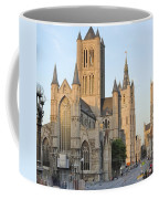 The Three Towers Of Gent Coffee Mug by Marilyn Dunlap