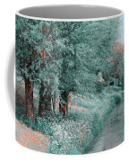 The Time Goes By. Nature In Alien Skin Coffee Mug