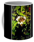 The Tiniest Skipper Butterfly In The Garden Coffee Mug