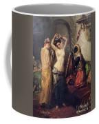 The Toilet In The Seraglio Coffee Mug by Theodore Chasseriau