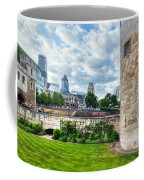 The Tower Of London And The City District With Gherkin Skyscraper, The Uk Coffee Mug