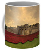 The Tower Poppies  Coffee Mug