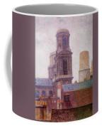 The Towers Saint Sulpice 1887 Coffee Mug