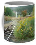 The Tracks At Pagosa Junction Coffee Mug