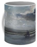 The Traeth Mawr, Moonlight Coffee Mug