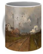The Train Is Arriving Coffee Mug