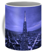 The Transamerica Pyramid At Sunset Coffee Mug