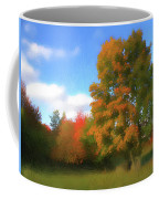 The Transition From Summer To Fall. Coffee Mug