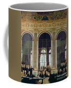 The Treaty Of Versailles Coffee Mug by Sir William Orpen
