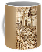 The Triumph And Vespasian De Titus 1500 Coffee Mug