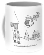 The Truth About Santa Coffee Mug