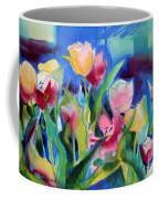 The Tulips Bed Rock Coffee Mug
