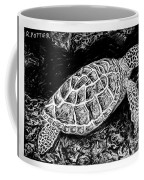 The Turtle Searches Coffee Mug