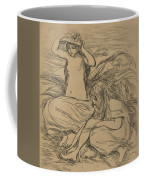 The Two Bathers Coffee Mug by Auguste Renoir
