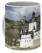 The Two Castles Of Kaub Germany Coffee Mug