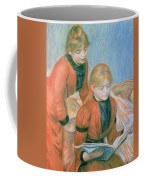 The Two Sisters Coffee Mug by Pierre Auguste Renoir