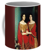 The Two Sisters Coffee Mug by Theodore Chasseriau