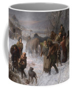 The Underground Railroad Coffee Mug by Charles T Webber