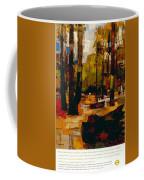 The Underground To Epping Forest - London Underground, London Metro - Retro Travel Poster Coffee Mug