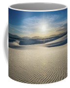 The Unique And Beautiful White Sands National Monument In New Me Coffee Mug