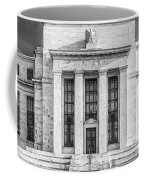The United States Federal Reserve Bw Coffee Mug