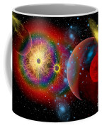 The Universe In A Perpetual State Coffee Mug by Mark Stevenson