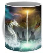 The Universe Of Dragons Coffee Mug