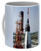 The Unmanned Mercury-atlas Capsule Sits Coffee Mug