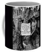 The U.s. Marines Salute The U.s. Coast Coffee Mug by Stocktrek Images