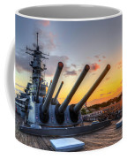 The Uss Missouri's Last Days Coffee Mug