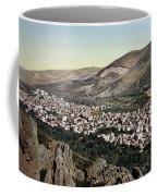 The Vale Of Nablus Coffee Mug