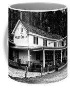 The Valley Green Inn In Black And White Coffee Mug