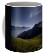The Valley In The Moonlight Coffee Mug