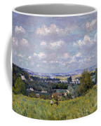The Valley Of The Seine At Saint Cloud Coffee Mug