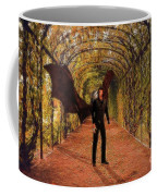 The Vampire In The Garden Coffee Mug